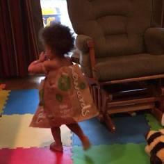 Paper bag girl
